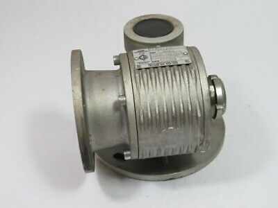 Ghirri Motoriduttori MRV10-F1 Worm Gear Reducer 1:25 Ratio  USED
