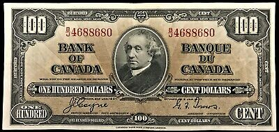 1937 Bank of Canada $100, Coyne-Towers, B/J