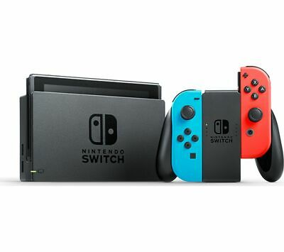 Nintendo Switch - Neon Red/Neon Blue - FAST AND FREE DELIVERY