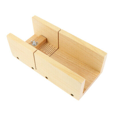 Wooden Box Loaf Soap Cutter Handmade Cutting Soap Trimming