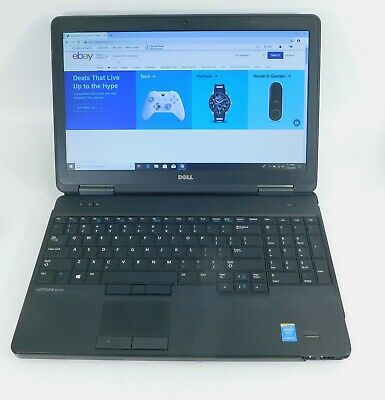 "Dell Latitude E5540 Laptop 15.6"" (Intel Core i5-320GB-8GB) - 7L95L12"