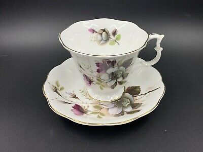 Royal Albert Flower Tea Cup And Saucer Set Bone China England