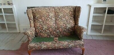 Vintage Parker Knoll Wingback 2 Seater settee / sofa