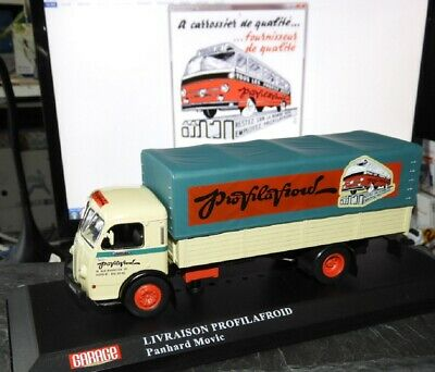 Tres Beau Camion Collection Garage Moderne Panhard Movic 1954 – Ixo – Ech 1/43-