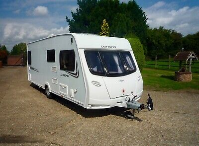 Lunar Quasar 544 - 2013 - Full Service History - Fixed Bed - Super Condition