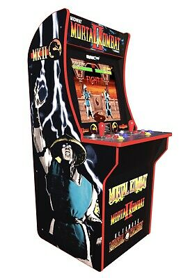 Mortal Kombat 2 Arcade Machine, Arcade1UP, 4ft Tall Video Game - NEW