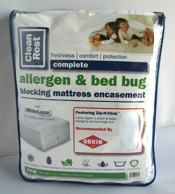 CleanRest Allergy and Bed Bug Blocking Mattress Encasement King Size