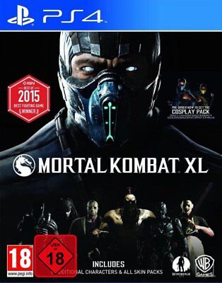 Mortal Combat XL (PS4) New ( Dlcs on Disc (Uncut) (Quick Delivery)