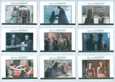 """Complete Relationships Set Dl31 - Dl40"" Game Of Thrones Season 6"
