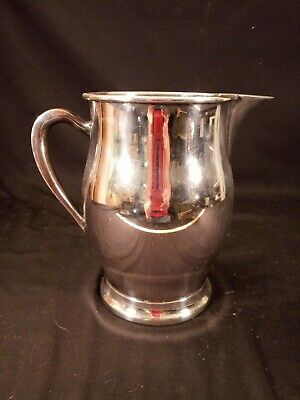 Vintage Silverplate Water Pitcher w KS Intl (Forbes) & Hand Symbol TMs