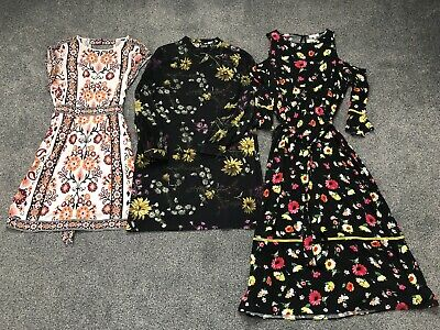 WAREHOUSE Dress Bundle Size 14 3 Items