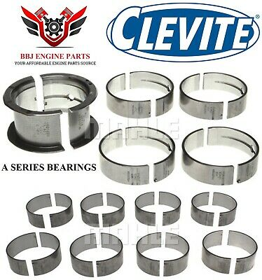 SB Chevy 350 Clevite 77 Connecting Rod and Main Bearing Combo .010