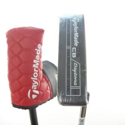TaylorMade OS CB Daytona 12 Putter 34.5 Inches Super Stroke Headcover 53523A