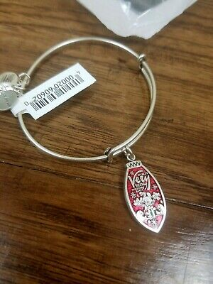 Alex and Ani Disney Bracelet Mickey's Very Merry Christmas Party  Silver