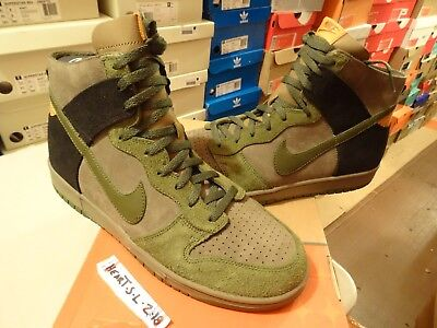 timeless design 6096c 2f29a NEW RARE 2005 Nike SB Dunk High NL NO-LINER HULK ARMY GREEN 311296 331