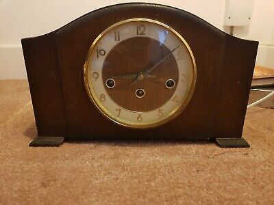 Antique Mantle Clock Westminster Chime