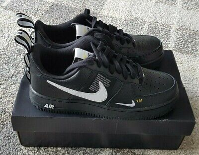 timeless design 1c128 ba905 Nike ® Air Force 1  07 LV8 Utility Black Size UK 6.5 BNIB