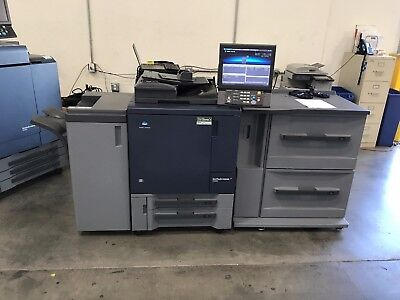 Konica Bizhub Press C1060 Couleur Copieur Imprimante Scaner - Seulement 1.1 Mil