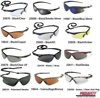 Jackson Nemesis V30 Safety Glasses/Sunglasses Various Colors & Quantities