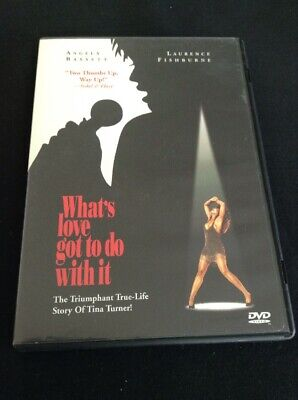 What's Love Got To Do With It Angela Bassett Brian Gibson DVD Drama USED!