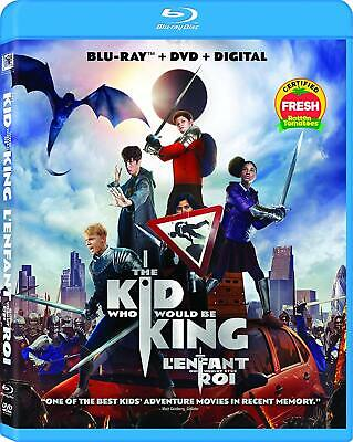 The Kid Who Would Be King (Bilingual) [Blu-ray + DVD + Digital Copy]W/Slipcover!