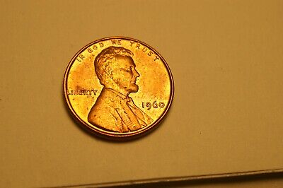 1960 P Small date Lincoln Cent 10