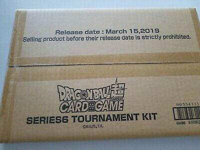 Dragon Ball Super Series 6 Tournament Kit Destroyer King Sealed