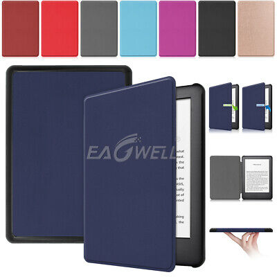 For Amazon Kindle 10th Generation 2019 Ultra Slim Leather Cover Sleep/Wake Case