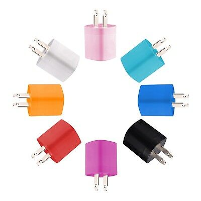 USB Wall Charger Power Adapter AC Home US Plug FOR iPhone 6 7 8 X Samsung LG