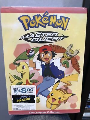 Pokemon: Master Quest - The Complete Collection (DVD, 2016, 7-Disc Set)