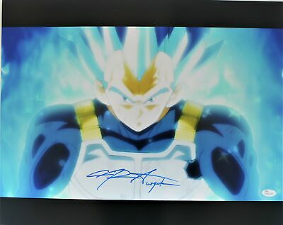 Chris Sabat Autograph 16x20 Dragon Ball Z Photo Vegeta Signed JSA COA