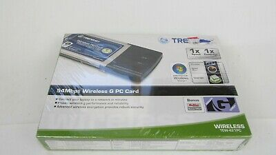 TRENDNET TEW-421PC B1.1R WIRELESS NETWORK ADAPTER 64BIT DRIVER