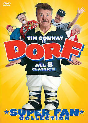Dorf: Super Fan Collection (DVD, 2010) TIM CONWAY