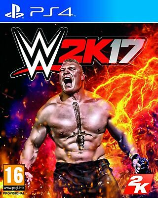 WWE 2K17 (PS4) [video game]