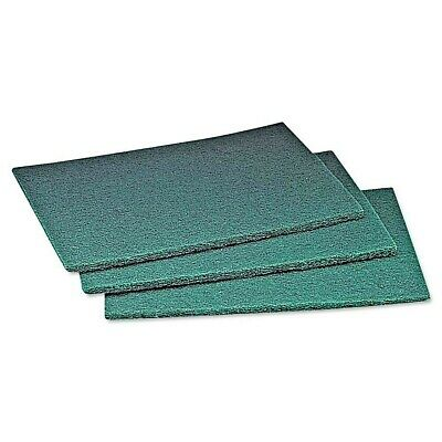 3 M Scotch-Brite Scour Pad, 6 x 9, Green - 60 Count
