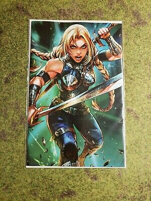 War Of The Realms #4 Maxx Lim Battle Lines Valkyrie Variant Nm