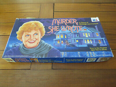 """""""Murder She Wrote"""" A Game of Strategy & Pursuit -1985 - Jessica Fletcher - 1985"""