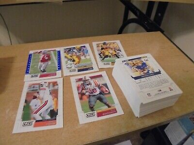 2019 Score Football 83 Card lot of Top Rookies - All Listed
