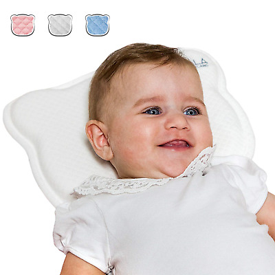 Plagiocephaly Baby Pillow with Two Removable Covers for The Prevention and Cure