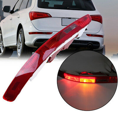 Left Driver Rear Bumper Lower Tail Light Reverse Lamp for Audi Q5 2009-2017 FAST