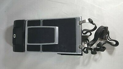 Polaroid SONAR OneStep SX-70 Land Camera, Sonar Black and Chrome. Tested A