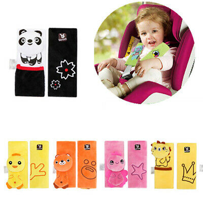 2Pc Baby Childs Car Seat Safety Belt Strap Cover Pad Cushion Shoulder Holder New