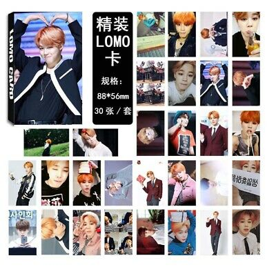 30PC/1set KPOP BTS Lomo Cards Bangtan Boys Personal Collective Photocard Poster