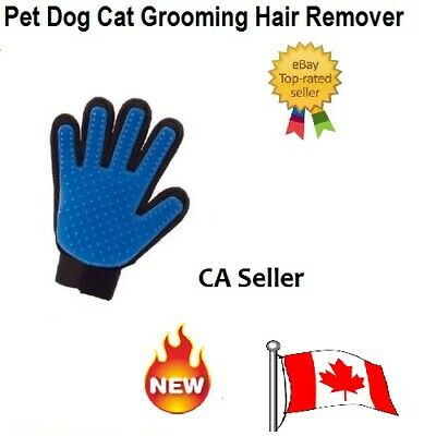Pet Dog Cat Grooming Hair Remover Massage Five Fingers Right Hand Glove Brush Ca