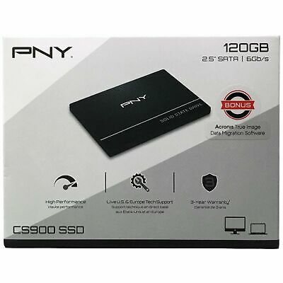 "PNY CS900 120GB 2.5"" SATA III Internal Solid State Drive SSD7CS900-120-RB"