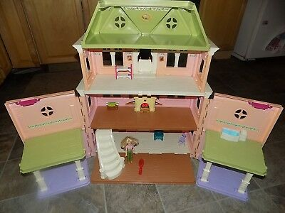 Fisher-Price Loving Family Grand Mansion Victorian Dollhouse with Accessories
