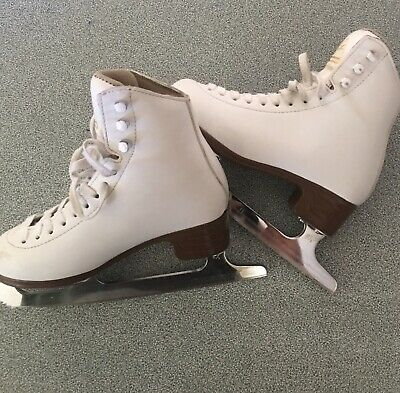 Jackson Mystique Ice Skates - White Size 3 girls