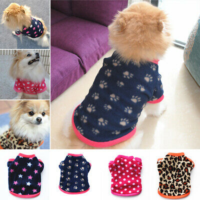 Small Puppy Soft Jumper Apparel Sweater Winter Costume Clothes Cat Dog Pet Coat