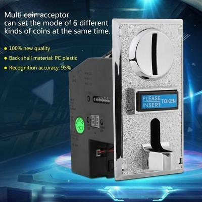 Multi CPU Coin Acceptor Selector Mechanism Vending Machine 6 types of coin C0U3