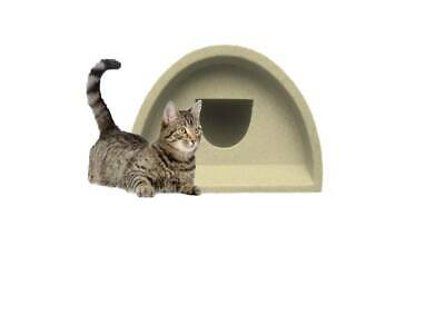 Only £51.00 Outdoor Cat Shelter / Kennel Plastic Cat House Bed Pod